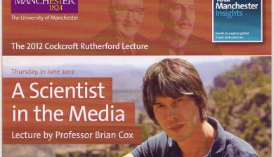 Brian Cox - A Scientist in the Media; the marketing of science